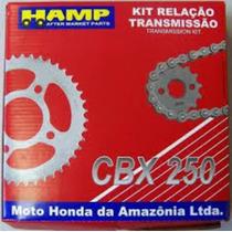 Kit Relação Cbx250 Twister C/ Retentor Hamp