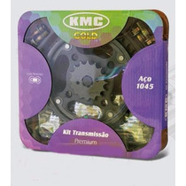 Kit Relação C/ Retentor Aço 1045 Yamaha Xt 600 Kmc Gold