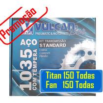 Kit Relação Da Honda Cg Titan 150 / Fan 150