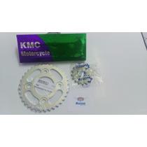 Kit Relação Competição Titan/fan 150 04/15 C/coroa 36 Dentes