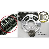 Kit Transmissao K(corrente C/retentor+coroa+pinhao)fazer 250