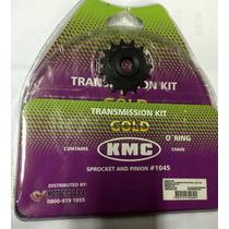 Kit Relação Com Retentor Aço 1045 Honda Xt 600 Kmc