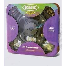 Kit Relação C/ Retentor Aço 1045 Honda Twister Cbx 250 Kmc