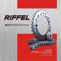 Kit Relação S/ Retentor Honda Bros Nxr 125 Riffel Premium