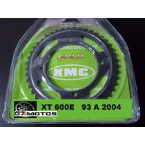 Kit Relação Xt 600 Kmc Aço 1045 Completo