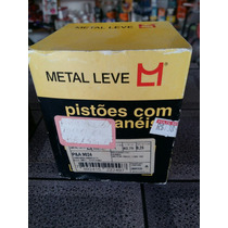 Kit Pistã C/ Anéis Cbx 150 Metal Leve 0,25 E 0,50 Promoção