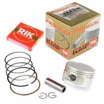 Pistao Kit Aneis Rik Honda Cbx 200 Strada 3mm - Kmp Premium