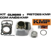 Kit Kmp Cilindro+pistao+anéis+jtas Kmp Intruder 125 /2006