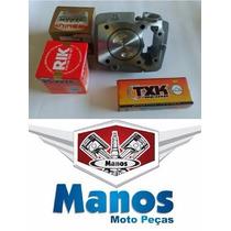 Kit Preparado Titan/fan 150 C/pistao Crf 230cc Taxado Alcool