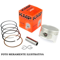 Pistao C/ Aneis Honda Cbx 200 Strada (kit) 2,00mm - Kmp