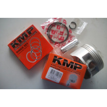 Pistao Kit 1,00mm Xre/cb 300 Kmp Com Aneis Kmp Completo