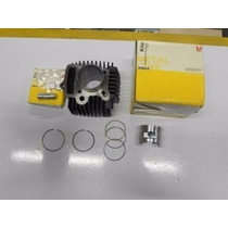 Kit Biz 100,c100 Dream Cilindro Motor Pistao Anel Metal Leve