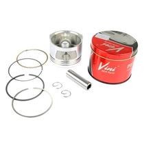 Pistão Kit C/ Anéis Honda Cbx200 Vini 1,00 Mm