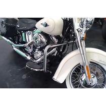 Protetor De Motor Harley Davidson Dyna Tradicional Cromado