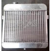 Radiador 100% Aluminio Opala Caravan 4cil De 1976 A 1983