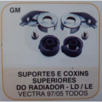 Suporte E Coxim Superior Radiador D/e Vectra 97 A 05 Tds