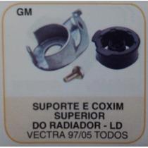 Suporte E Coxim Superior Radiador Dir Vectra 97 A 05 Tds