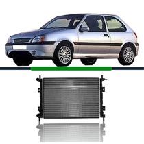 Radiador Fiesta/courier 1.0 Rocam 00-02 C/ar Ka 1.0/1.6 09 &