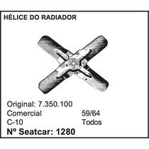 Helice Do Radiador 4 Pás C-10 1959 A 1964 Chevrolet