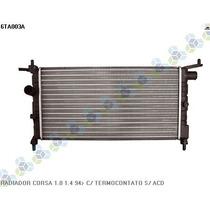 Radiador Corsa Hatch Super Mpfi 1.0 8v 96/00 - Valeo