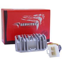 Retificador Bateria Regulador Voltagem Rd 350 Lc Servitec
