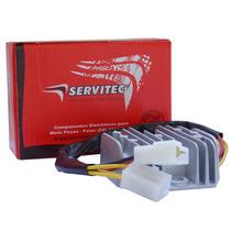 Retificador Bateria Regulador Voltagem Gs500e Servitec