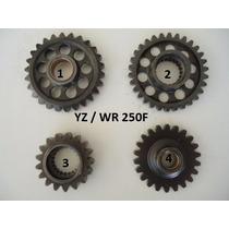 Engrenagem Motor Yz Wr 250 Virabrequim Primaria Balanceiro
