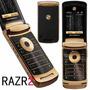 Motorola Razr2 V8 Gold Luxury Desbloqueado