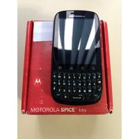 Motorola Xt316 Spice Key - 3.2mp, 3g, Wi-fi, Gps - Usado