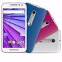 Motorola Moto G 3ª Geração Colors Branco Tv + Cartão 16 Gb