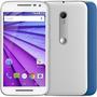 Celular Motorola Moto G 3 ª Geração Branco Colors Orange