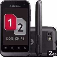 Motorola Mini Defy Xt321 2 Chips 3mp Gps Wi-fi
