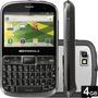 Celular Motorola Defy Pro Xt560, 5mp, Teclado Qwerty - Prata