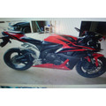 Moto Cbr600rr Sucata:peças,motor,suspensao,eletrica,rodas,