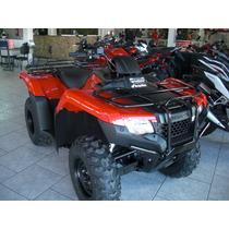 Honda Quadriciclo Trx 420 Fm 4x4 Fourtrax Zero A Faturar