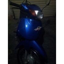 Honda Biz 2001 100cc Azul Super Econômica