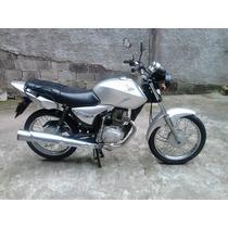 Moto Titan 150ks Prata