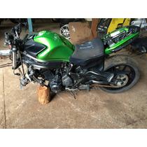 Sucata Kawazaki Ninja 650,motor,roda,quadrob,amortecedor,fre