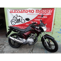 Honda Cg 150 Titan Ex 2014 Preta Alessandro Motos Jundiai