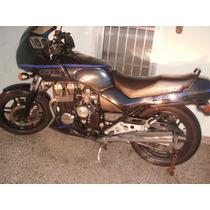 Honda Cbx 750 F Ano 90 Azul Em Ótimo Estado