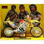 Suzuki Rm-z450 Rockstar Makita Ryan Dungey 1/12 New Ray Cros