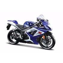 Miniatura Moto Suzuki Gsx-r750 1:12 17 Cm Maisto