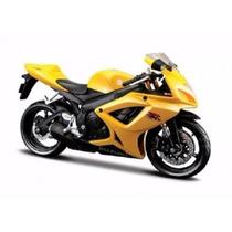 Miniatura Moto Suzuki Gsx-r600 1:12 17 Cm Maisto