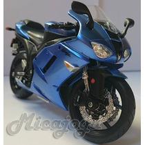 Kawasaki Ninja Zx-6r 1/12 Maisto Honda Yamaha Suzuki Moto