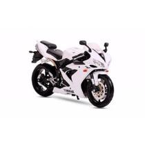 Miniatura Moto Yamaha Yzf-r1 1:12 17 Cm Maisto
