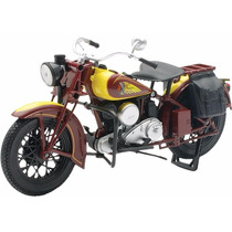Indian Sport Scout 1/12 New Ray Lançamento Moto Antiga