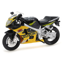 Suzuki Gsx-r600 2 Wheelers Maisto 1:18 Amarelo 35010-14