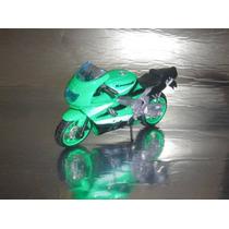 ( L - 20 ) Maisto - ( 1:18 Motocicleta Kawasaki Zx 9 R Ninja