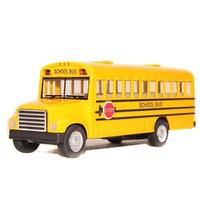 Clássico Ônibus Escolar School Bus Amarelo Abre Porta