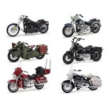 Kit Harley.d Maisto 1:18 Série 26 - 06 Unidades-31360-26-kit